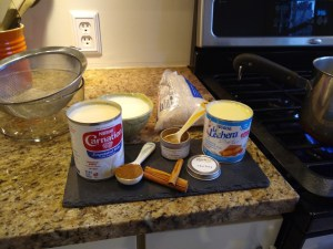 Mexican and chai rice pudding ingredients recipe