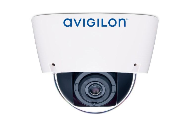 Avigilon H5A dome camera (side view)