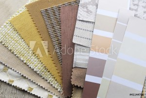 Fabrics for interior design