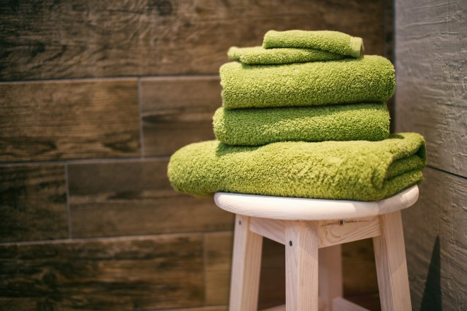 woven fabric towels