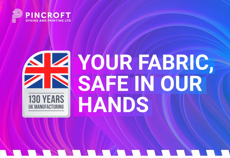 Quality assurance from the UK's largest fabric dyehouse