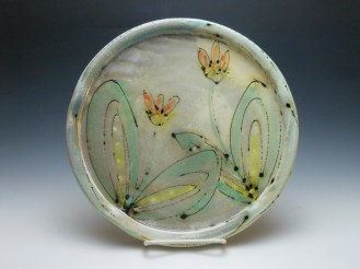 Two-Flower Plate
