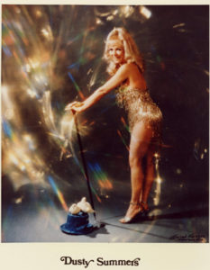 Burlesque Legend & Magician Dusty Summers to perform on Friday.   Photo: Courtesy of TXBFest