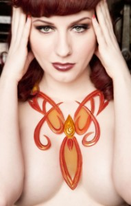Model: Angela Ryan MUA/H: LaDonna  Photo: H James Hoff for Art with Latex