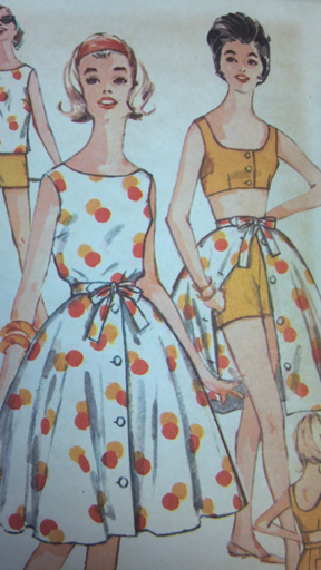 Original pattern for Chakra Tease's playsuit