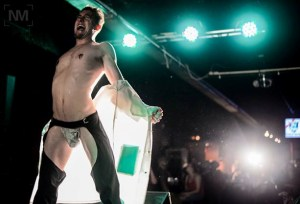 Bender !Flames! performs at Queerfest 2014. Photo courtesy Nate Mickelberg Images