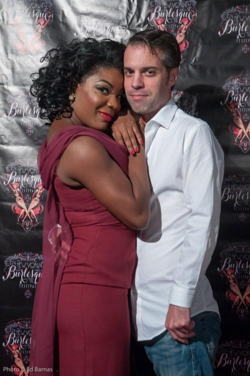 Perle Noire & David Bishop. Photo: Ed Barnas