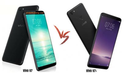 Perbedaan Vivo V7 dan V7 Plus