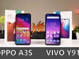 Oppo A3S vs Vivo Y91