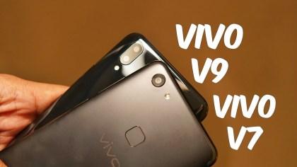 Perbedaan Vivo V7 dan Vivo V9