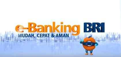 Cara Daftar E Banking BRI
