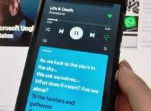 Cara Menampilkan Lirik di Spotify