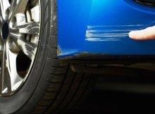 Cara Menghilangkan Baret Mobil