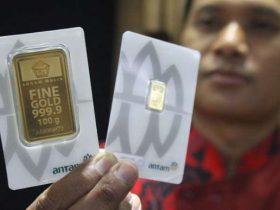 Biaya cetak emas antam