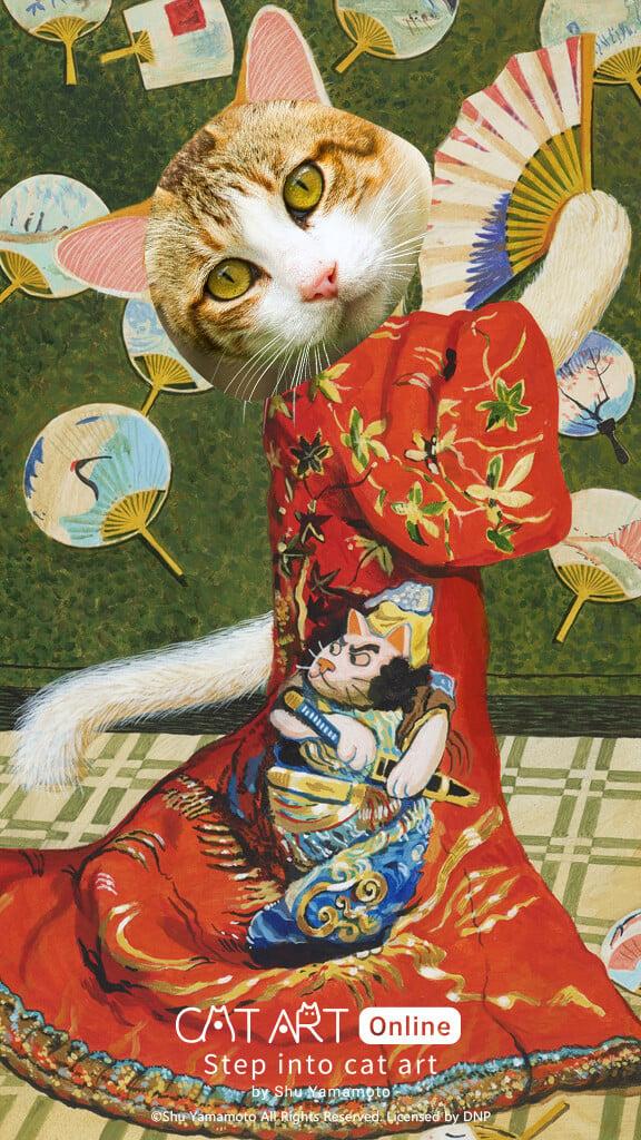 Step into Cat Art 04 5 - 《Step into Cat Art 走進喵次元》貓・美術館9.17線上開展