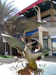 Stingray Fountain