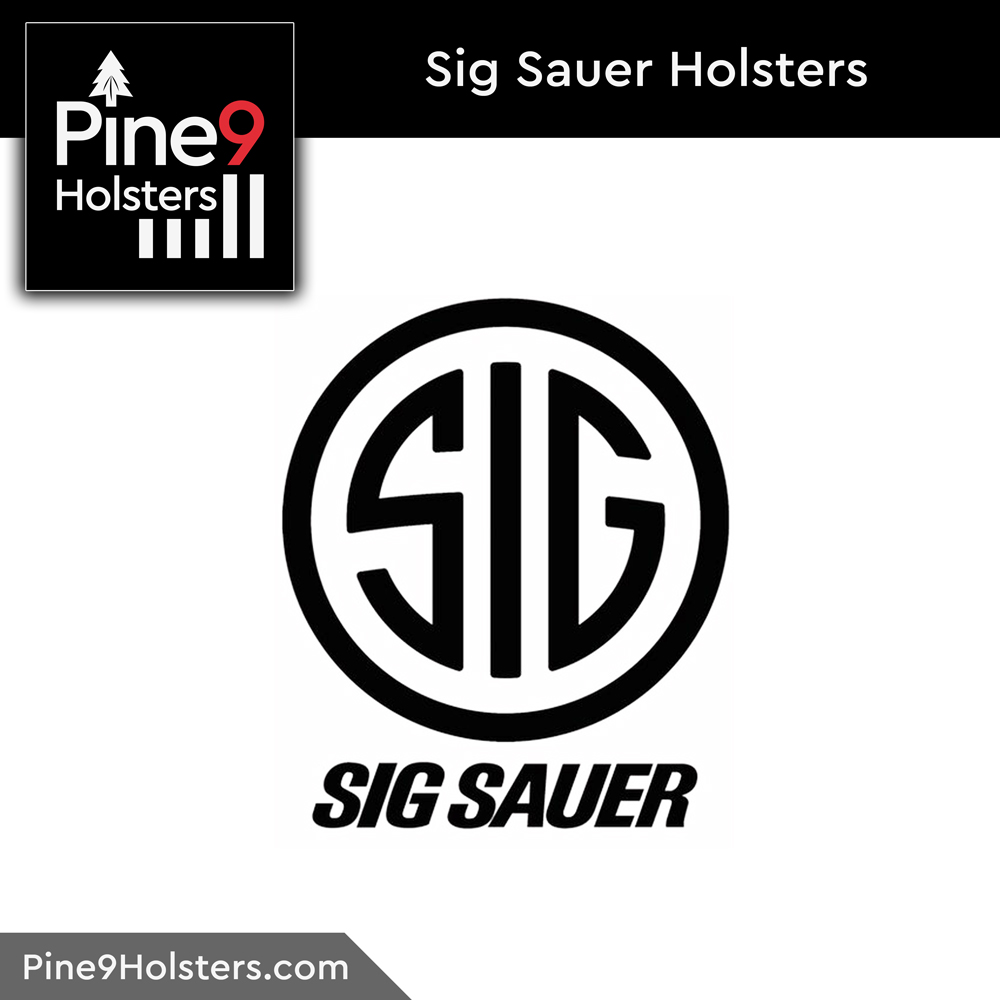 Sig Sauer Pine9 holsters