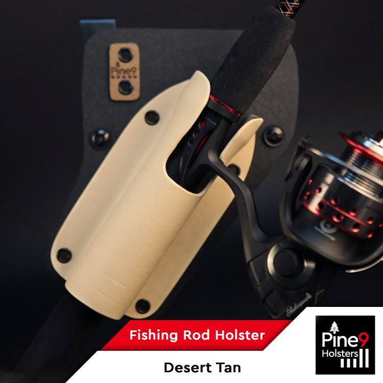 Fishing-Rod Holster_with Color Label_Desert Tan_2