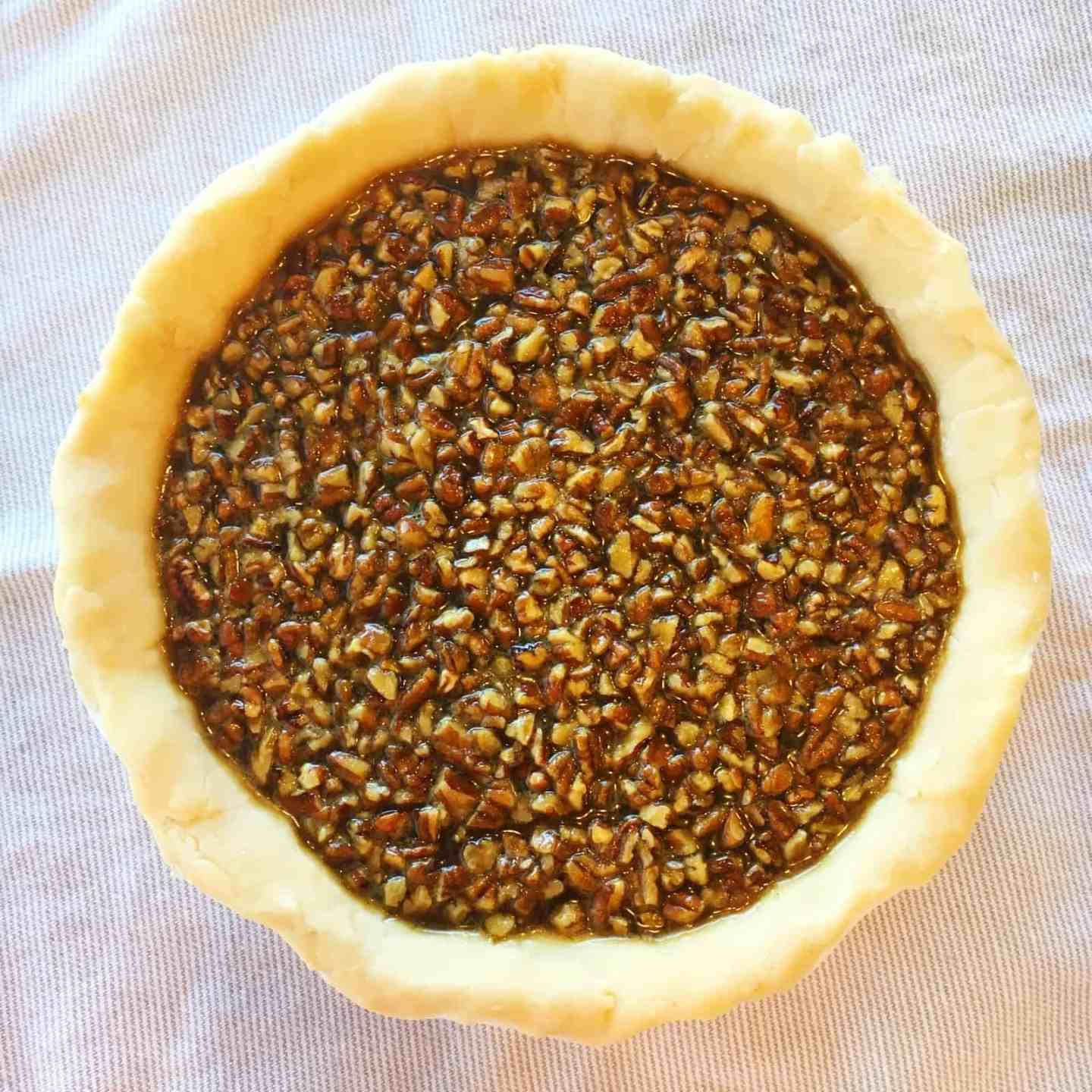 Bourbon and Brown Butter Pecan Pie