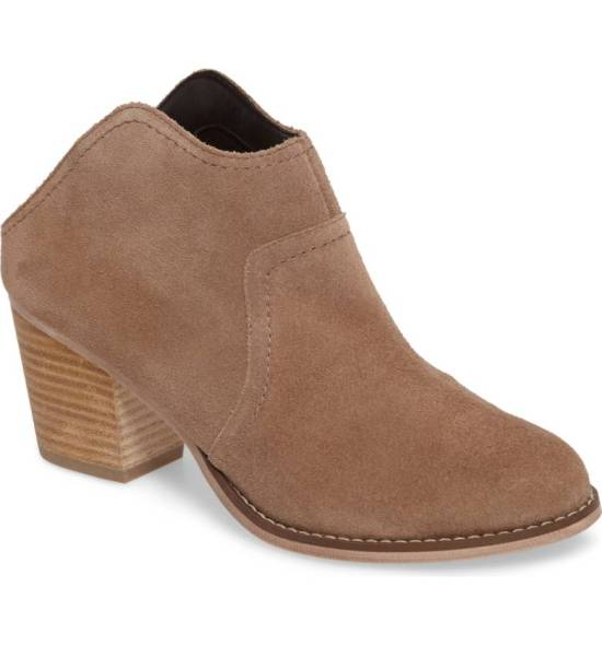 Sole Society Caribou Mule Bootie