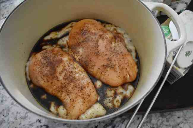 Chicken with Cream of Mushroom + Worcestershire and Scenes from the Weekend