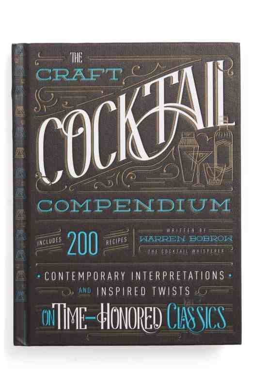 Craft Cocktail Compendium Book