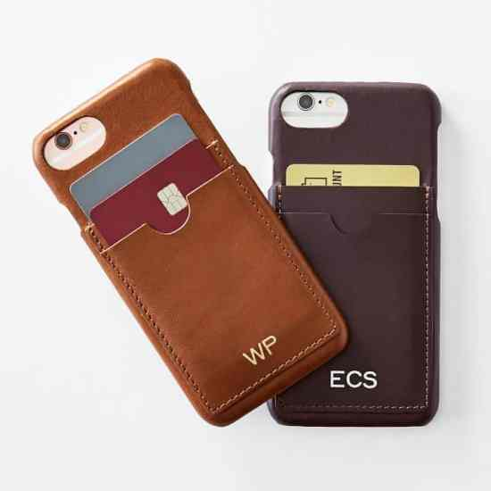 Leather Wallet and iPhone 7 Case