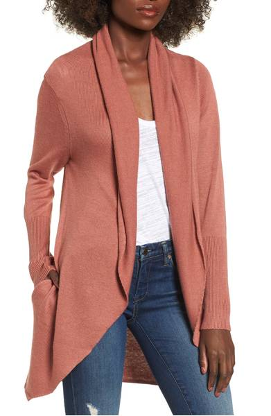 leith easy circle cardigan