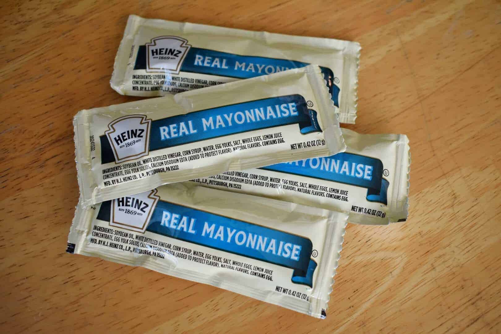 mayonnaise packets