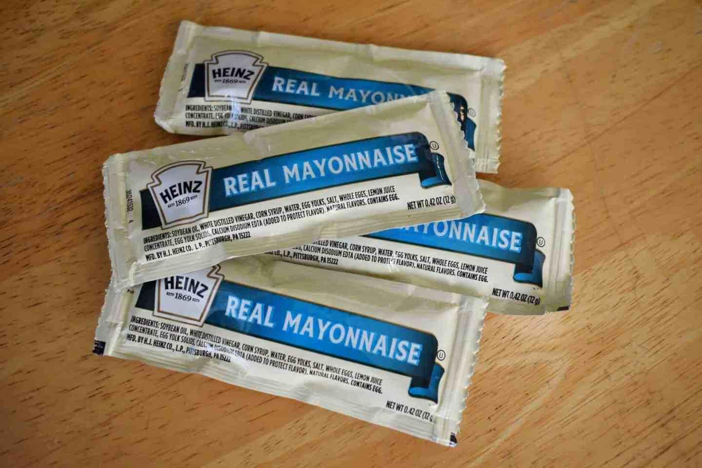 mayonnaise packets