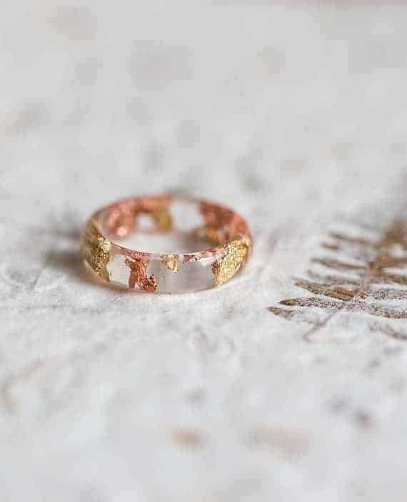 resin stacking ring