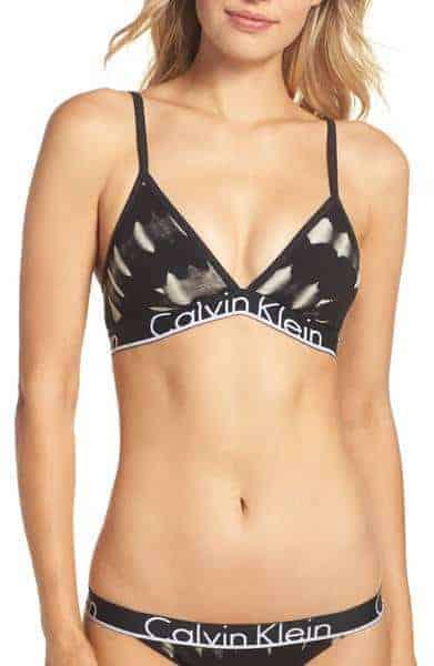 Calvin Klein Triangle Bralette