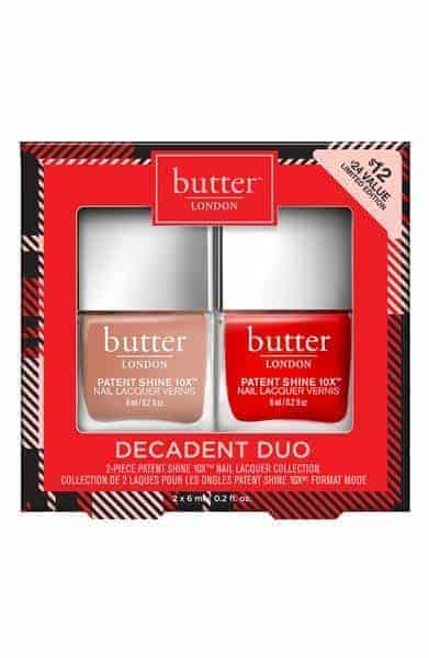 butter london decadent duo set