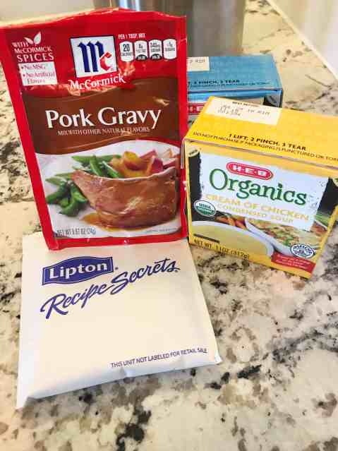 pork chops in crock pot