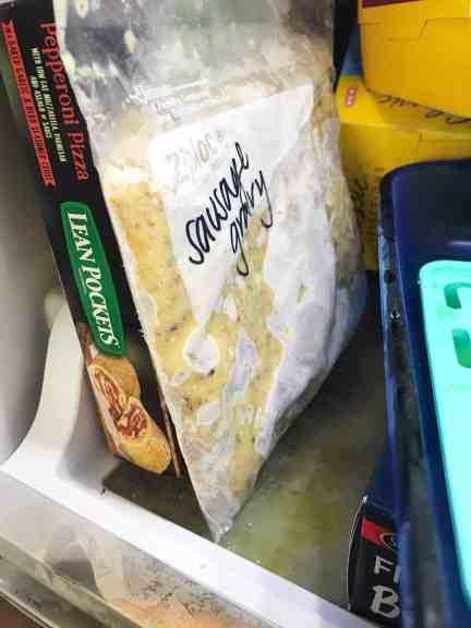 freezer friendly food
