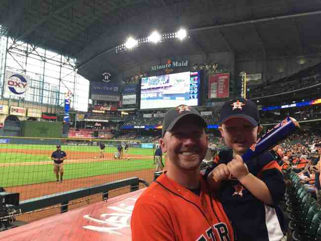 Corey: The Astros' Batting Stance Kid