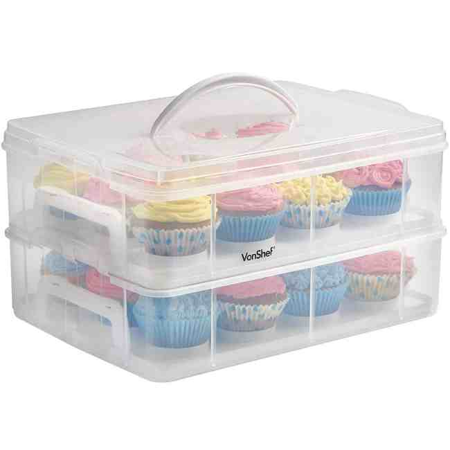 Cupcake Carrier (24 cupcakes or 2 large cakes)