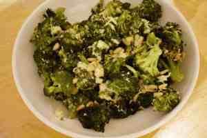 Parmesan Caesar Broccoli