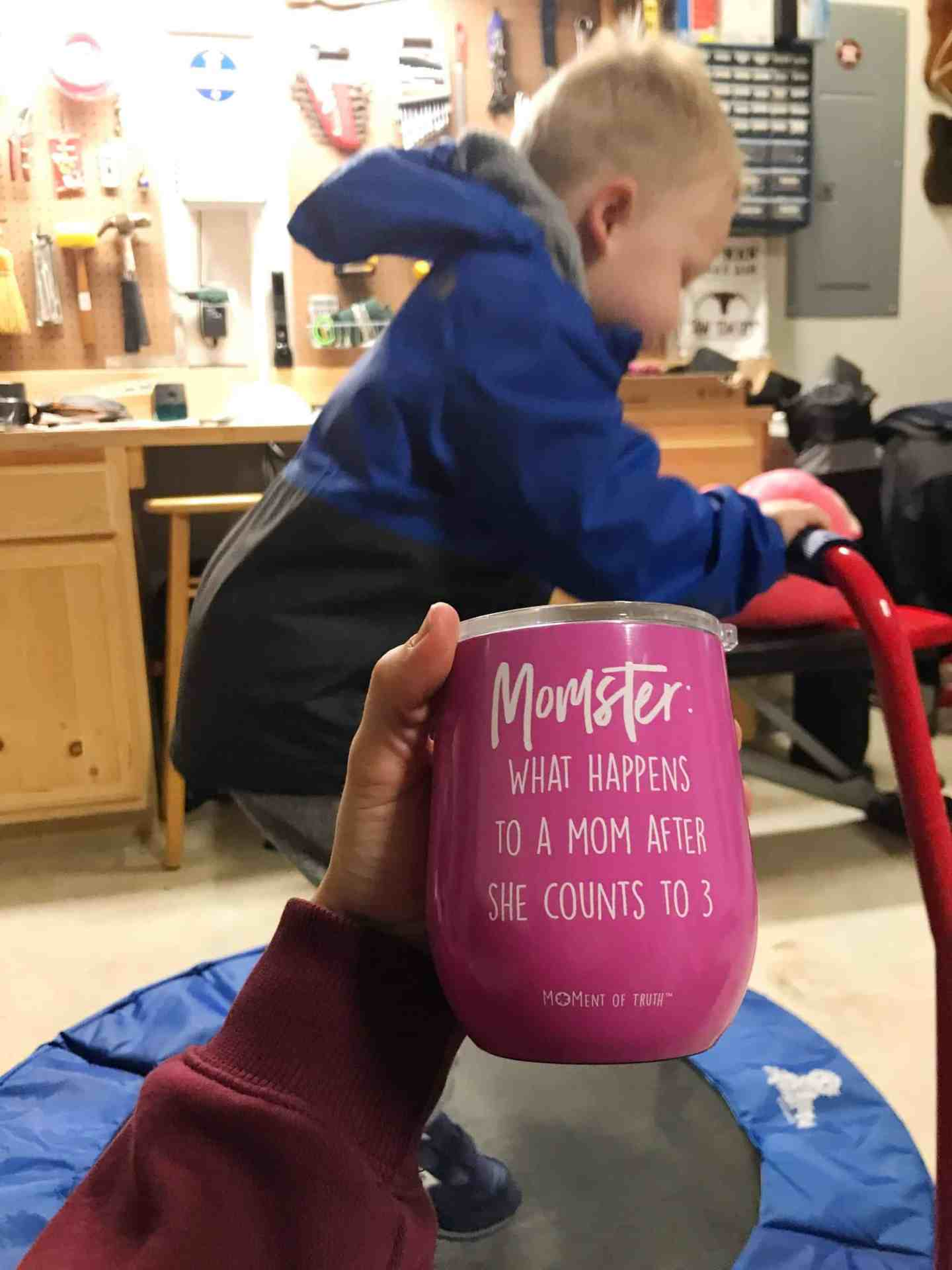Momster Wine Cup