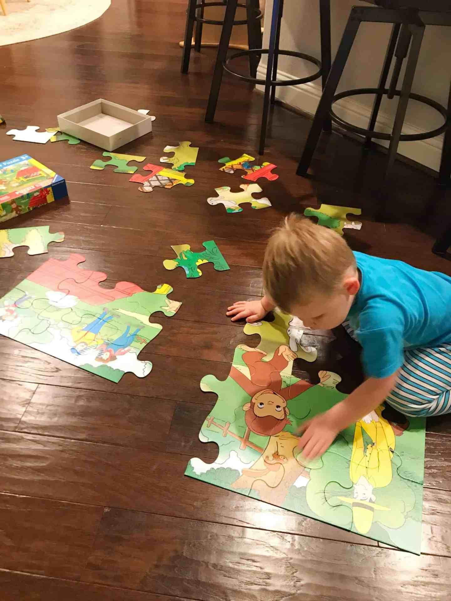 Curious George Floor Puzzle