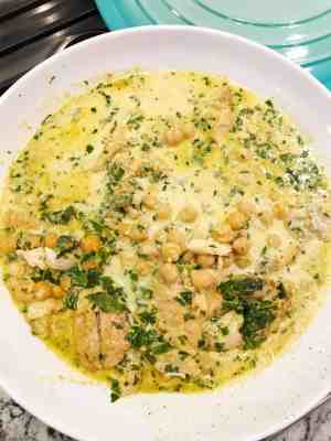Creamy Curried Fish