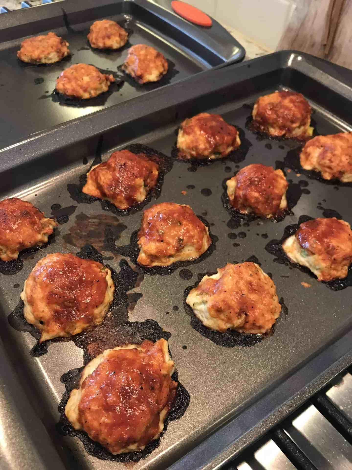 Asian Chicken Meatballs