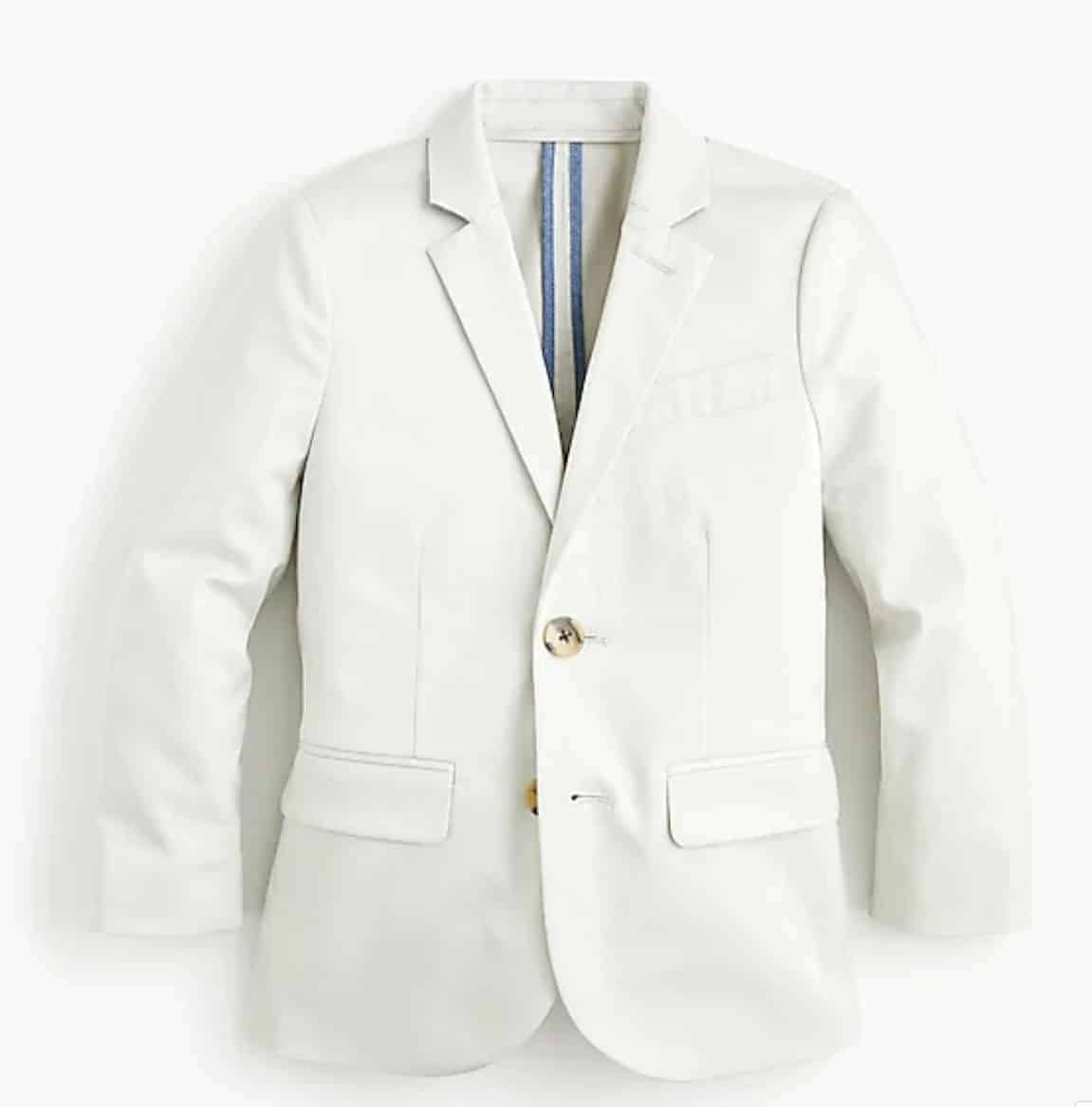 spring boys suit jacket stretch