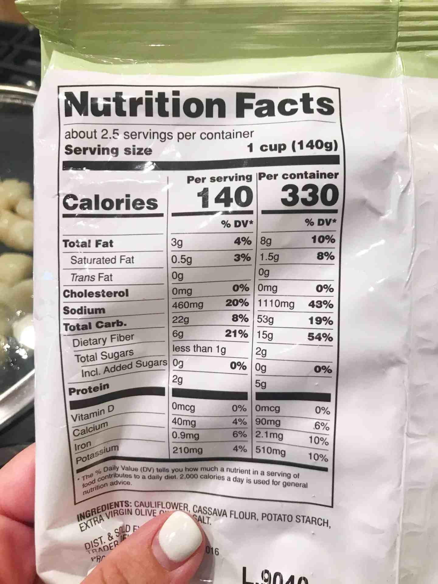 How To Cook Trader Joe's Cauliflower Gnocchi