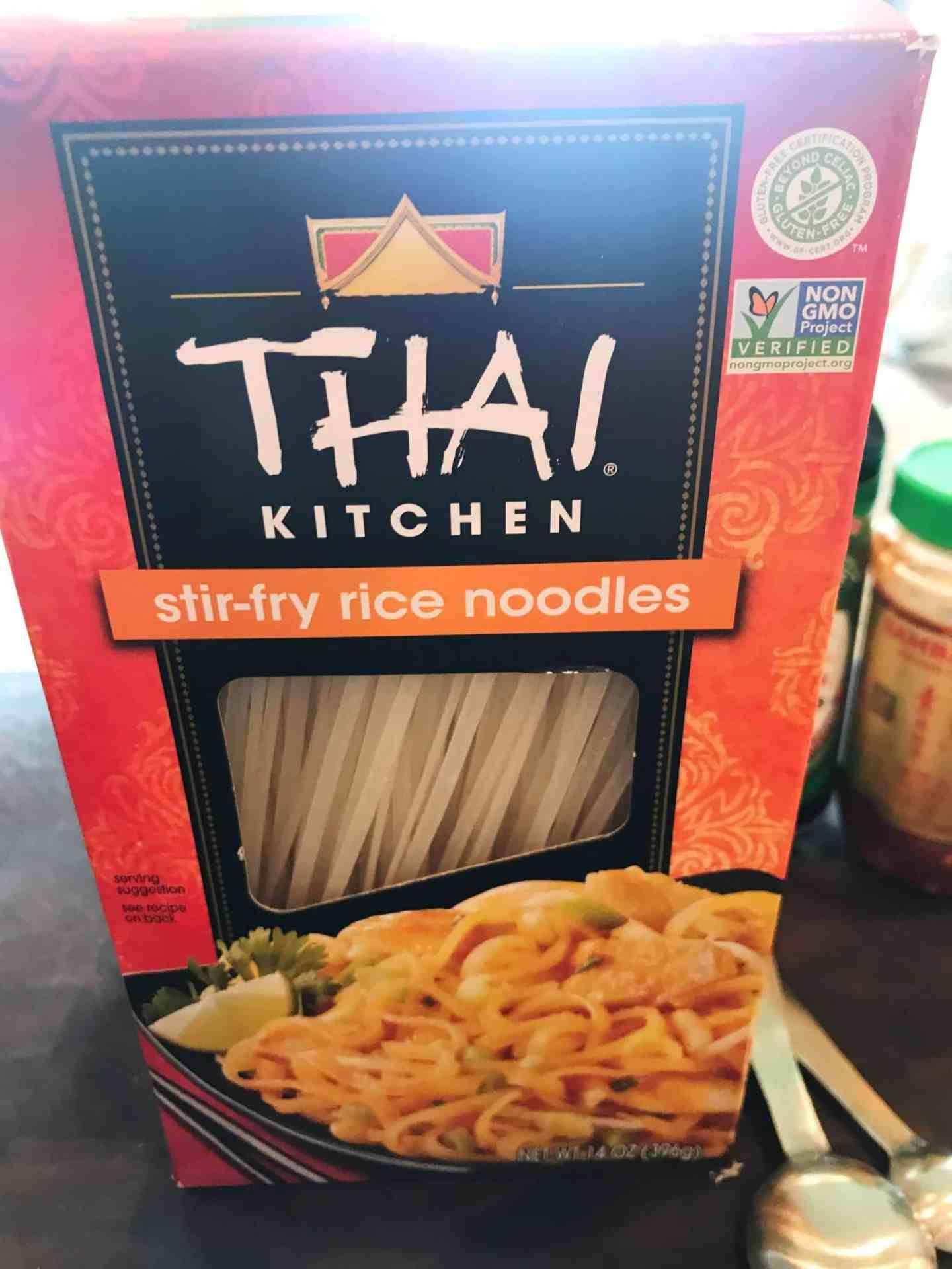 Thai kitchen gluten free stir fry noodles