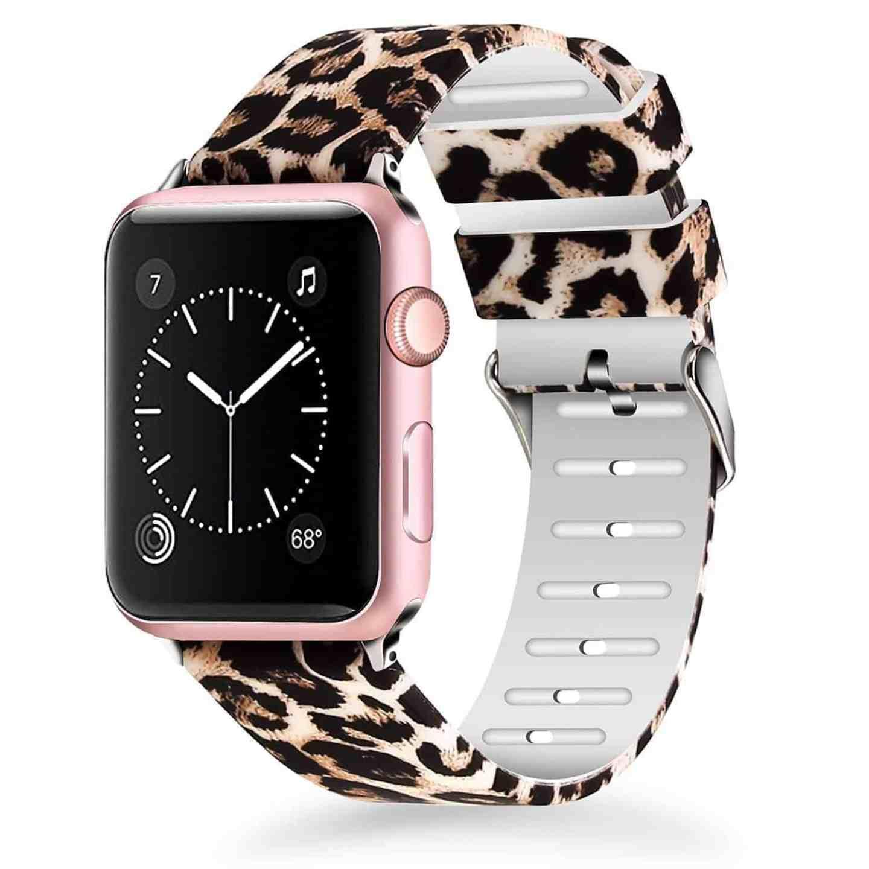 Leopard Apple Watch Band