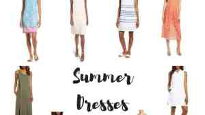 cropped Summer Dresses