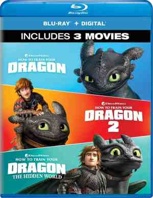How to Train Your Dragon Blu Ray Set