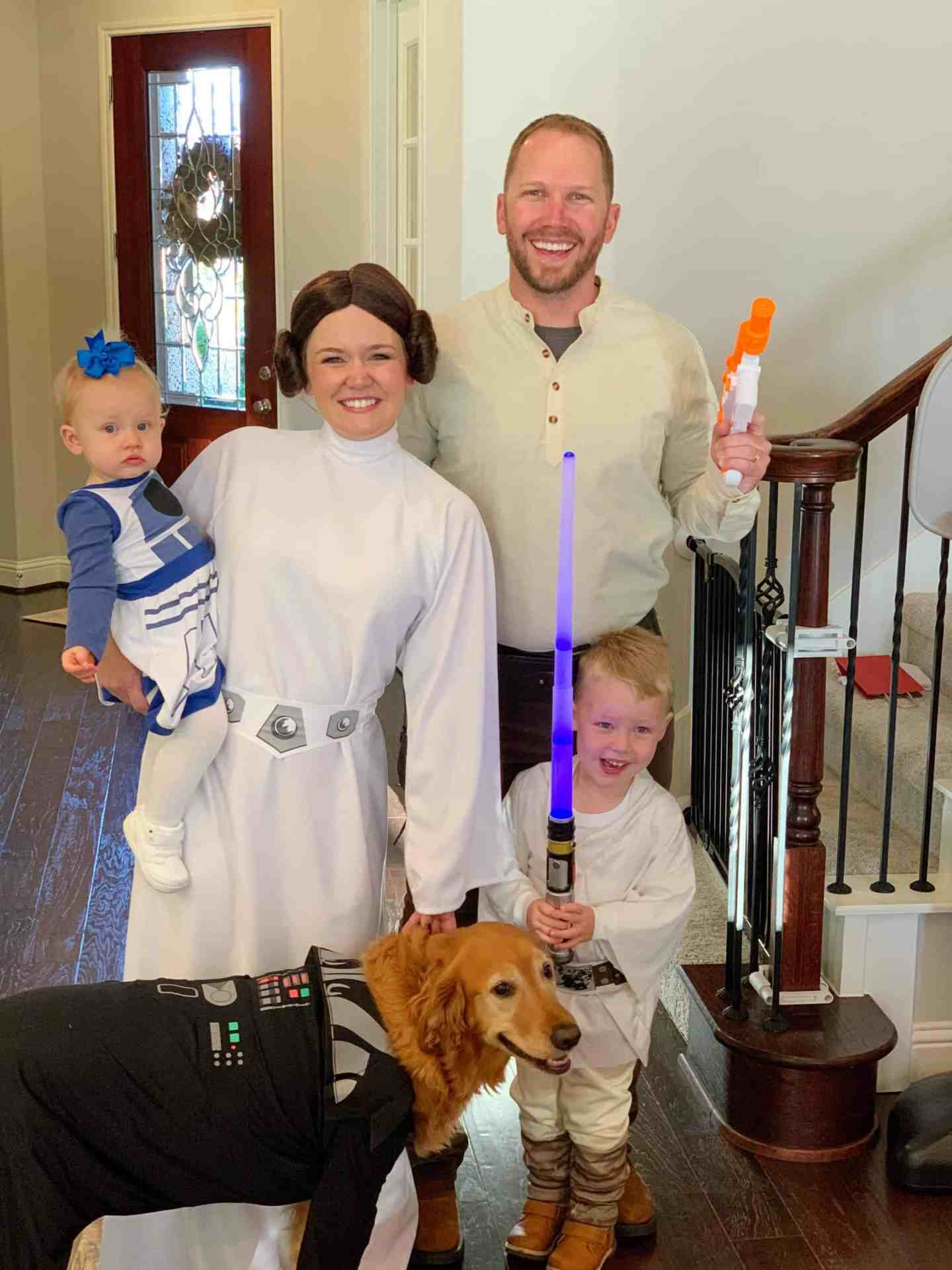family star wars halloween costumes