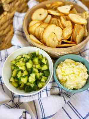 Whipped-Feta-and-Marinated-Cucumbers-healthy-appetizer
